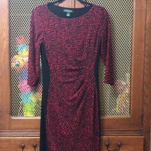 Ralph Lauren Black and red dress